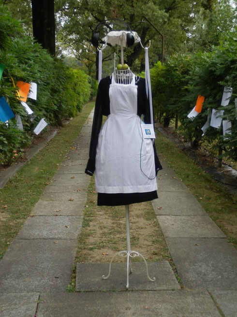 ''La Signorina Felicita nel viale della Poesia'', installazione di Lidia Chiarelli, 28/09/2013