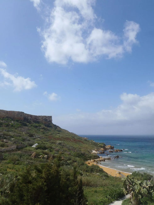 San Blas Bay, beach, Gozo
