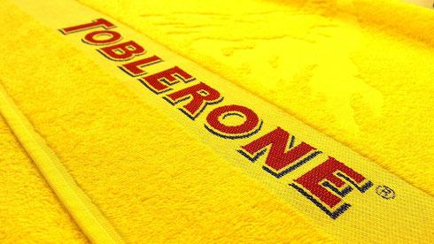 Handtuch bedrucken, Handtuch besticken, Handtuch gewebt, Handtuch mit Logo, Handtuch individuell