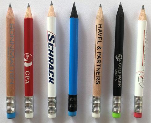 Bleistifte bedrucken, Bleistifte bedrucken mit Logo, Bleistifte bedruckt, Bleistift bedrucken, Bleistift mit Logo,  Bleistifte Werbemittel, Druckbleistifte, Golfbleistifte