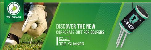 Tee-Shaker, Tee-Shaker mit Logo, Tee-Shaker bedruckt, Tee-Shaker bedrucken, Tee Shaker, Golfwerbemittel, Golf Werbemittel, Golfartikel, Holztees, Tees mit Verpackung, Tee-Shaker Verpackung, Verpackung bedrucken, Verpackung bedruckt, Holztees-Verpackung