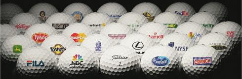 Golfbälle bedrucken, Logo Golfbälle, Golf Werbemittel, Golfbälle bedruckt, Logo Golfbälle, Titleist Golfbälle bedrucken, Callaway Golfbälle bedrucken