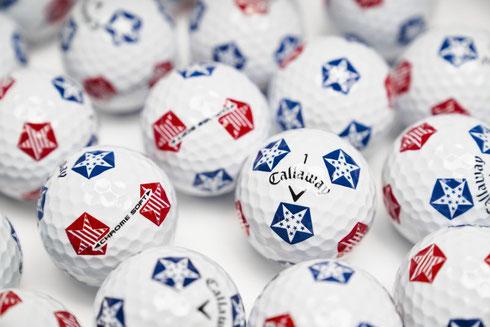 Golfbälle bedrucken, Golfbälle mit Logo, Callaway Golfbälle, Logo Callaway Golfbälle