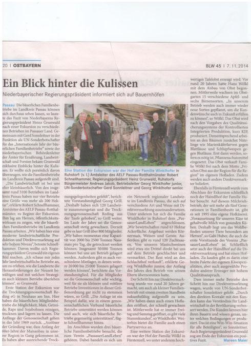 Ldw. Wochenblatt