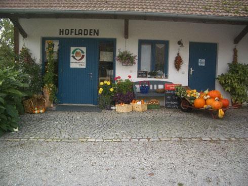 Eingangsbereich Hofladen Winklhofer Kohlpoint