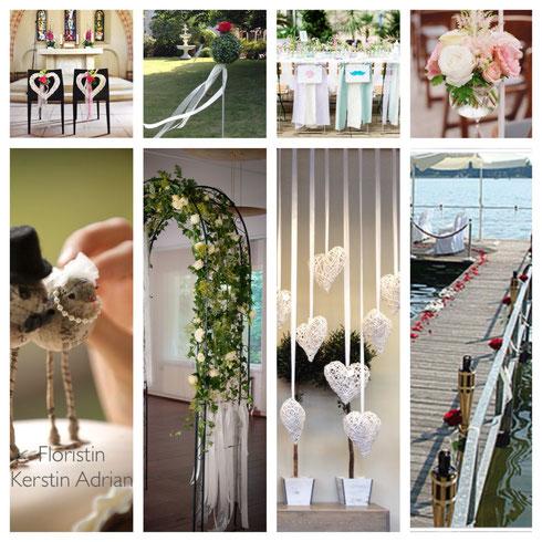Blumen zur Hochzeit......