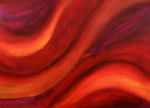 Bewegung Acryl auf Leinwand 100x140cm