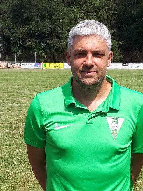 Neuer Trainer Philipp Irmisch