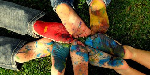 Gemeinsam aktiv sein und Spaß in der Natur haben!