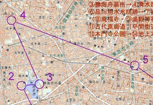現代の地図