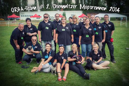 (C) LOCO-STYLEZ | Das Organisationsteam des 2. Chemnitzer Mopsrennens. Auf dem Foto fehlt leider Nicole Mauersberger.