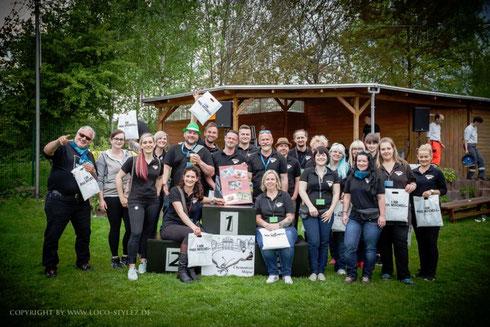 Das Organisations-Team und alle Helfer des 5. Chemnitzer Mopsrennens