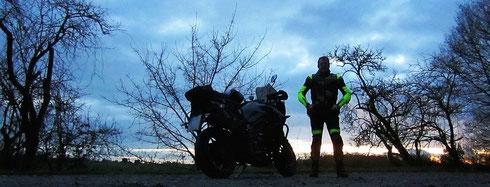 »End of Ride 2017«, am letzten Novembersonntag, bei Einöd