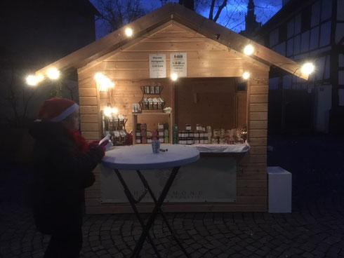 Weihnachtsmarkt in Frankfurt - Fechenheim