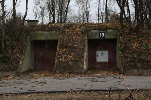 Hergerichteter Bunker Außenansicht Foto: NABU/Borck
