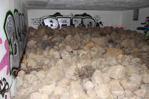 Bunker für Kleinsäuger Reptilien und Amphibien Foto: NABU/Borck