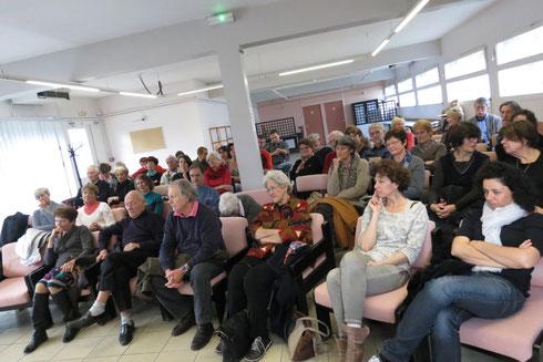 la foule fut nombreuse durant tout le week-end et notamment pour écouter Patrick Cabanel dimanche après-midi.