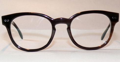 Büffelhornbrille mit Nietscharnieren