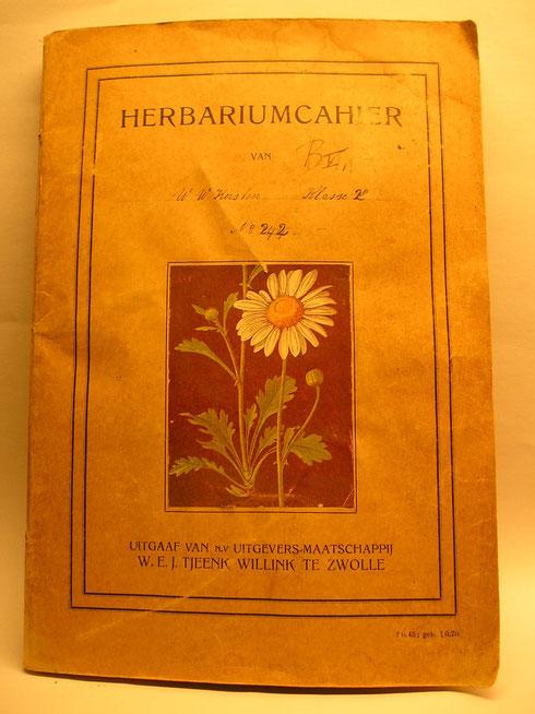 Herbariumcahier W.W. Kersten