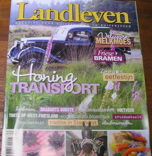 Herbarium Frisicum in het magazine Landleven