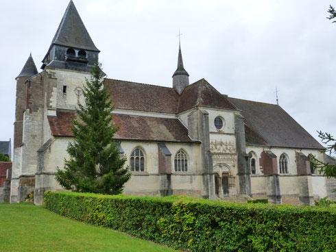 venez visiter les églises de l'Aube, collégiale à Villemaur,la mise au tombeau de l'église de  Chaource