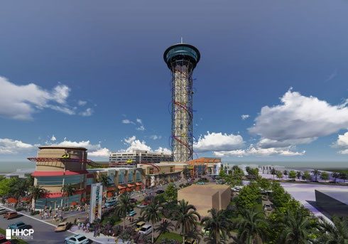 "World's Tallest Rollercoaster and Entertainment Complex ""The Skyscraper at SKYPLEX"" To Electrify Orlando Skyline in 2016"