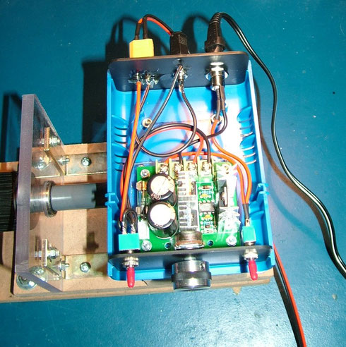 Spulenwickelmaschine Elektronik