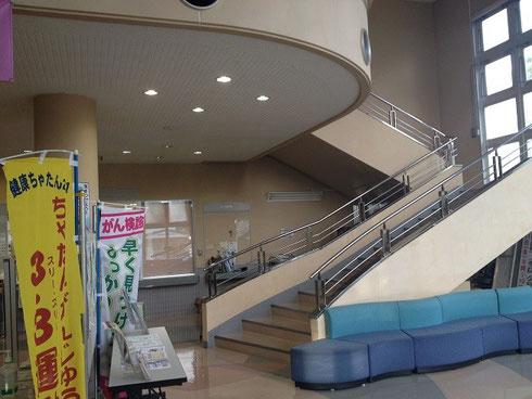 中へ入り、2階へ・・・。
