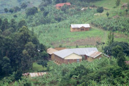 Klinik in Kihanda im Süden von Uganda