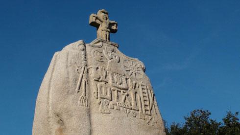 Le Menhir de Saint-Uzec de Pleumeur-Bodou