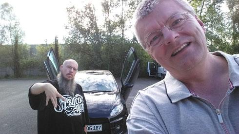 Sascha Hummel und Michael Völkel