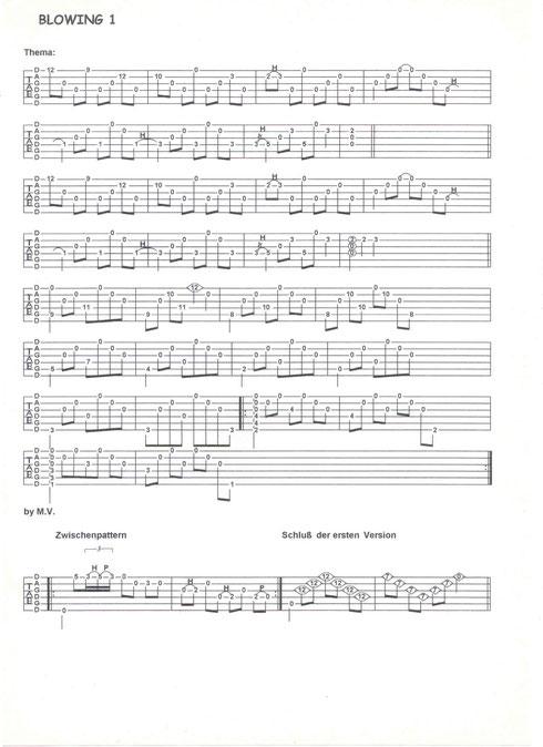 """""""Blowing"""" von der LP """"Wide Land""""     Musik: Michael Völkel (Download siehe unten)"""