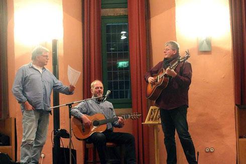 März 2019 Schloss Horst mit Burkhard Wegener und Christoph Biermann