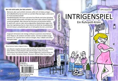 Intrigenspiel - Cover von Michael Völkel und Volker Kosnietzki