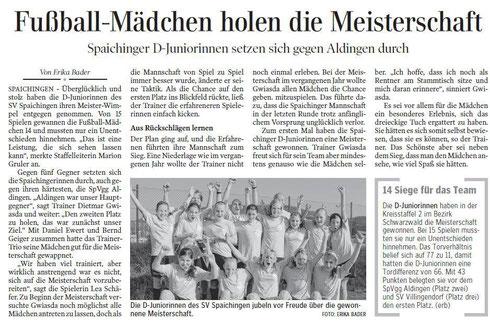 Quelle: Schwäbische Zeitung - 26.07.2013