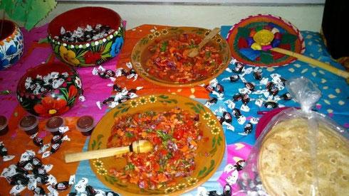 Muestra Gastronómica Istmo de Tehuantepec Grupo 102 en Tuxtepec