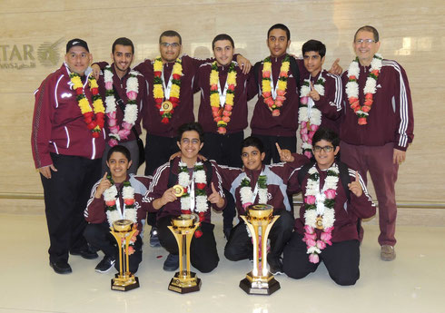 Qatar National Bowling Team - Youth, Junior, and Coaches