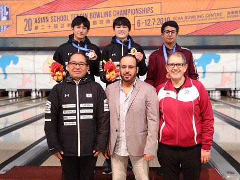 Qatari, Nasser Al-Mansouri - Bronze Medalist All Event