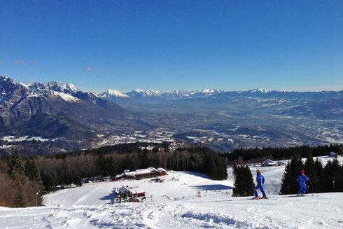 Piste da sci presso Comprensorio scistico del Monte Avena