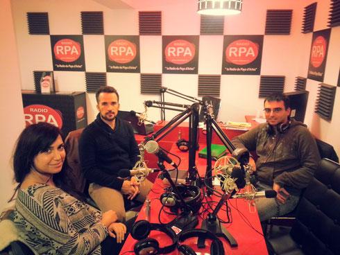 Lara et Vincent Fare de la ganaderia la Paluna sur Radio RPA