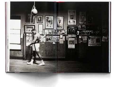 Muhammad Ali in gym training, Chicago, Usa, 1966, from 'BIG CHAMP' book, by Thomas Hoepker