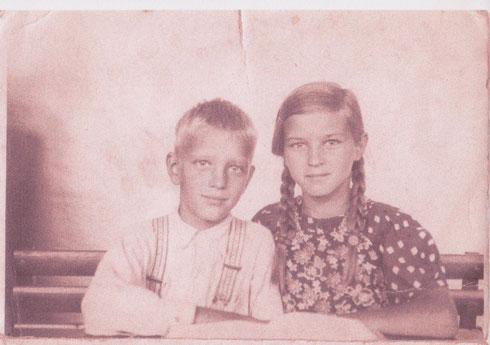 Vater und Tante Esther
