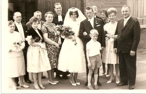 Der Lütte in der Mitte das bin Ich Peter Dannenberg