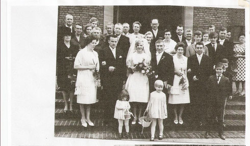 Hochzeit von Tante Ingrid