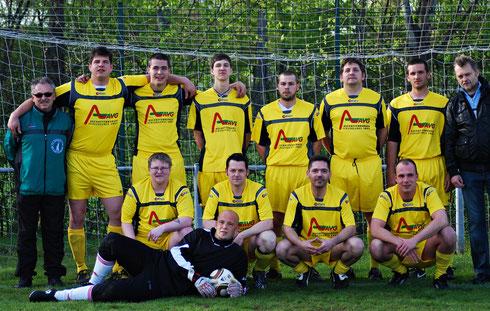 Die Elf des FC Bavaria am 21.04.2012