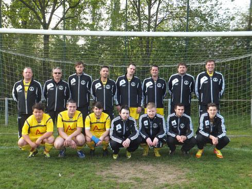 Die Mannschaft des FC Bavaria am 12.04.2014