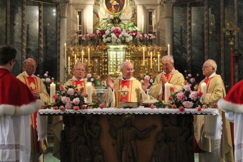 50-jähriges Jubiläum von P. Norbert M. Harm im Juni 2013
