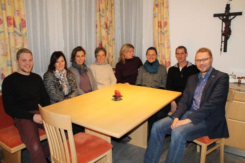 Firmhelfer 2016 (nicht auf dem Foto: Birgit Horzek, Ulrike Mast-Attlmayer und PA Mira Stare, Fotografin)