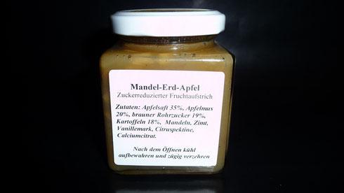 Mandel Erd-Apfel Marmelade
