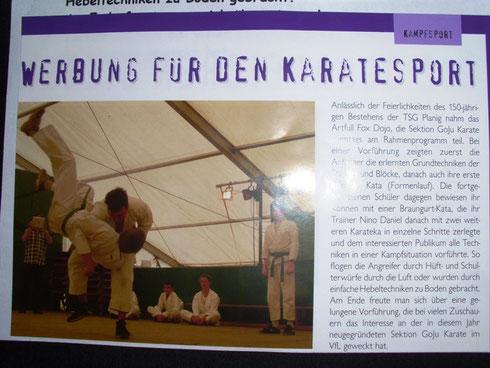 Vereinszeitschrift VfL Sports